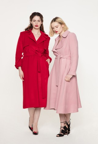 Effi and Miss V coat